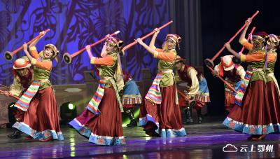 民族歌舞《藏源文化 魅力山南》精彩上演