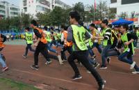 梁子湖区840名学生参加体育中考