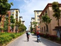 梧桐湖社区安置房建设工程有序推进