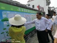市长考察美丽乡村建设