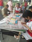 葛店开发区社发局组织开展红十字会暑期活动