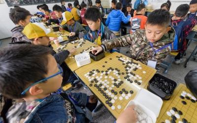 鄂东南少儿围棋段级位大赛在鄂州开赛