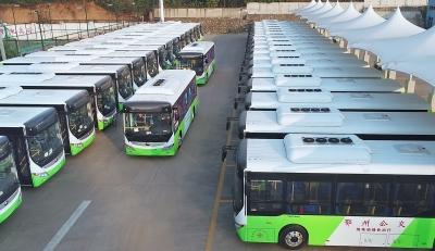 鄂州即将上路的纯电动公交车长啥样?小云带您一起看