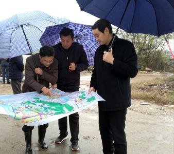 刘海军在花湖开发区调研时强调  服务航空城建设  推进产城一体发展