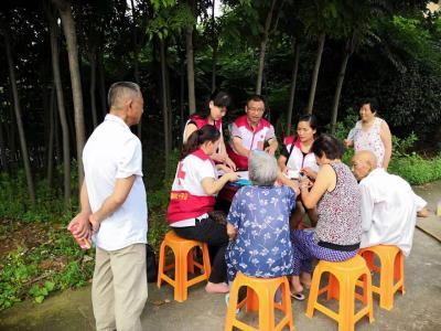"""鄂州市红十字志愿服务队开展""""邻里守望""""爱心义诊志愿服务活动"""
