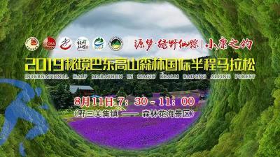 2019秘境巴东高山森林国际半程马拉松