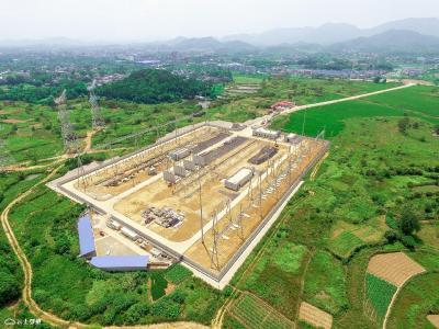 鄂州首座500KV变电站加紧建设