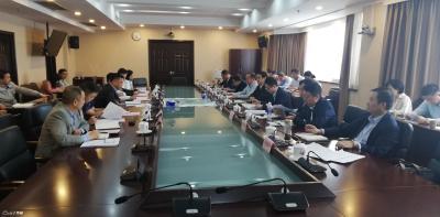 省商务厅召开鄂州机场临空产业招商推进会 刘海军率队参加