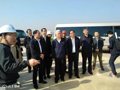 海关总署调研鄂州机场项目