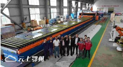 鄂州造打破欧洲设备垄断!我国首套大型激光切焊一体机出口印度