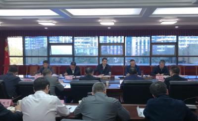 刘海军在鄂州机场建设指挥部指挥长会议上强调:机场建设再提速  产业招商猛发力