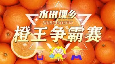 """""""醉""""美秭归,""""橙""""交朋友 ——水田坝片区""""橙王争霸赛"""