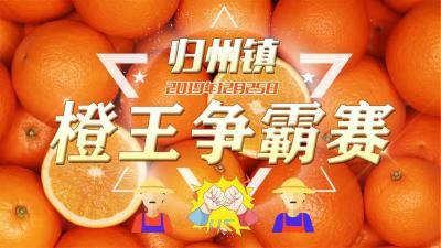 """""""醉""""美秭归,""""橙""""交朋友 ——归州片区""""橙王争霸赛"""""""