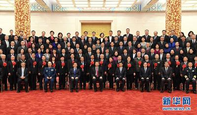 习近平会见全国离退休干部先进集体和先进个人代表