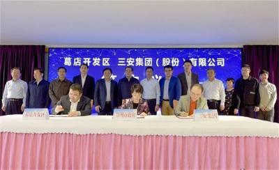 省人大代表、鄂州市市长刘海军:确保三安光电项目2021年元月如期建成