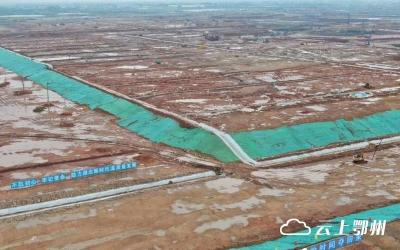 鄂州机场首个地面建筑开建 主体工程今年计划完成投资45亿元
