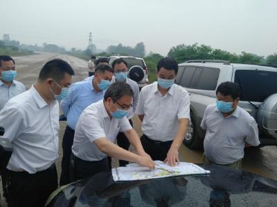 刘海军调研我市重点交通基础设施项目建设进展情况:倒排工期加快进度 确保如期高质量建成