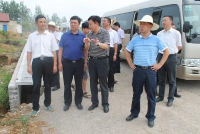 王润涛带队调研指导我区灾后重建工作
