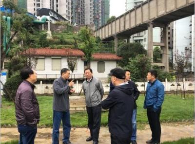 王俊同志调研中心城区天然气门站及西线供热管网项目建设