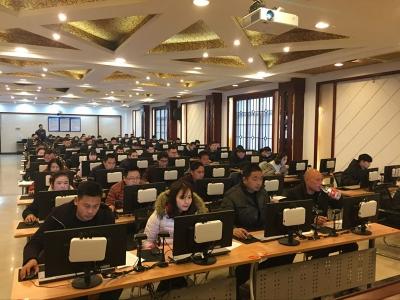 荆门市建筑安管人员及特种作业人员考试圆满举办