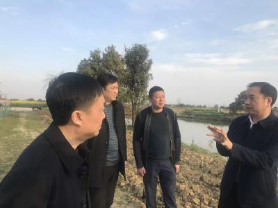 陈前华在沙洋县更新村蹲点调研时强调:精准扶贫要发挥好合作社的重要作用