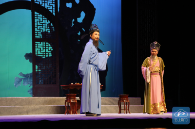 荆门原创廉政历史花鼓戏《戒石碑》举行首演