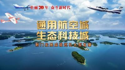"""""""通用航空城、生态科技城""""荆门发展成就巡礼大型直播漳河新区"""
