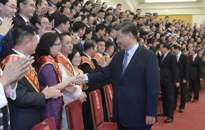 习近平会见中国红十字会第十一次全国会员代表大会代表