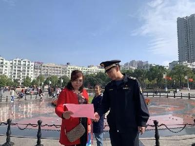 """荆门市城管执法委依托""""红色驿站""""抓实创城志愿服务"""