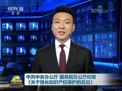 中共中央办公厅 国务院办公厅印发《关于强化知识产权保护的意见》