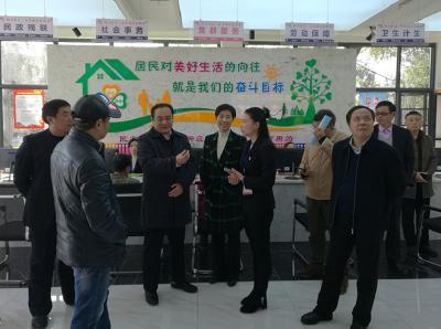 张盛仁来荆调研综治工作联系点和荆门市产业技术研究院建设情况