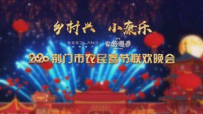 """""""乡村兴 小康乐""""2020荆门市农民春节联欢晚会"""