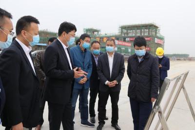 传化智联高级副总裁徐炎来荆考察