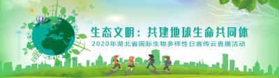 生态文明:共建地球生命共同体——2020年湖北省国际生物多样性日宣传云直播活动