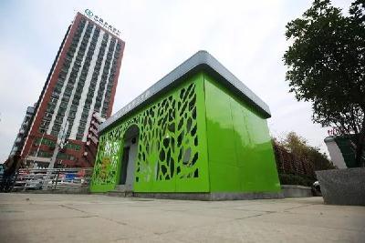 年内,荆门城区将再建5座人性化、高颜值公厕
