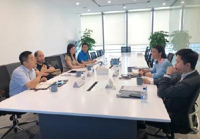 市直电子信息产业招商专班赴上海、苏州招商
