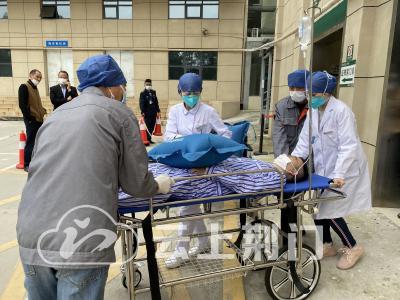 总动员!荆门市2020新冠肺炎疫情防控检验性应急演练正在进行...