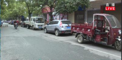 星火路:马路市场已整改 车辆乱停仍存在
