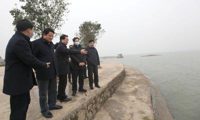 省第五生态环境保护督察组调研沙洋县生态环境保护工作