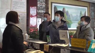 李珩带队暗访冬春季疫情防控工作