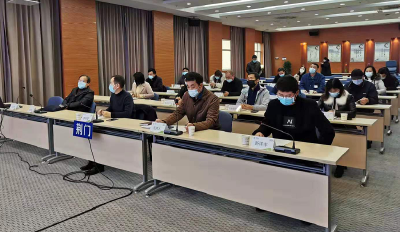 市经信局召开新冠肺炎疫情防控培训会议