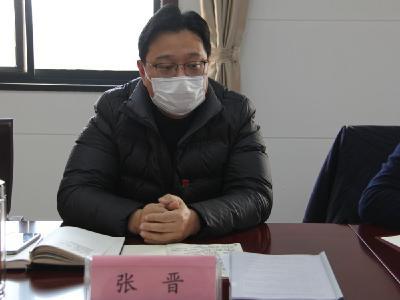 张晋参加屈家岭税务局党委2020年度民主生活会