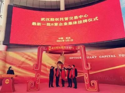 荆门高新区·掇刀区6家企业集体挂牌四板