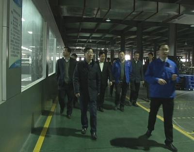 阳新县党政代表团来冶考察