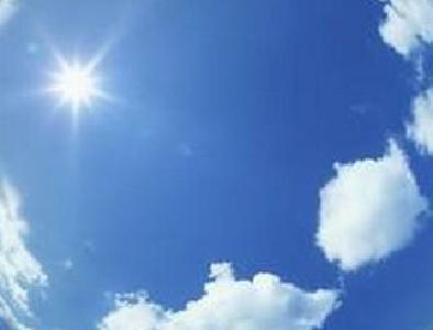 太阳每天露面早晚温度较低