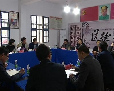 黄石市委常委、统战部长杜水生来冶调研精准扶贫工作