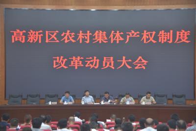 """""""六到位""""推进高新区农村集体产权制度改革"""