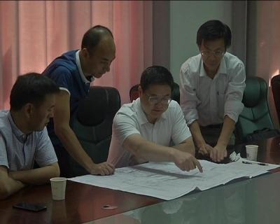 王刚到大冶湖枢纽工程管理局、聚龙外国语学校调研