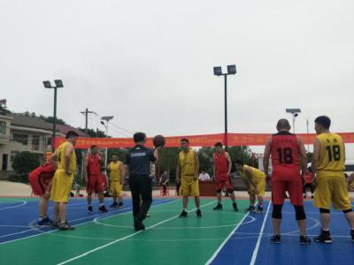 黄石市第五届HBA职工篮球俱乐部联赛循环赛在还地桥镇举行