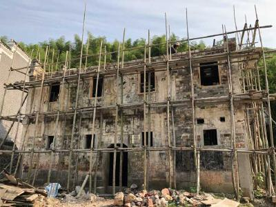 饶惠谭故居修缮工程启动